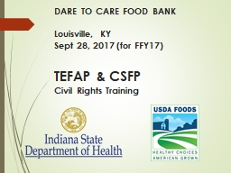 DARE TO CARE FOOD BANK Louisville, KY