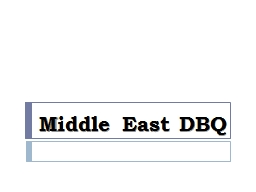 Middle East DBQ Balfour Declaration