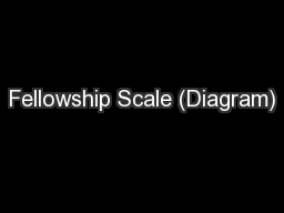 Fellowship Scale (Diagram)