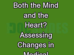 SBIRT Education for Both the Mind and the Heart? Assessing Changes in Medical Residents� Attitude