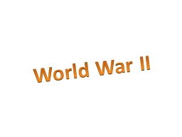 World War II Which country did President Franklin Roosevelt want to provide weapons to under the Le