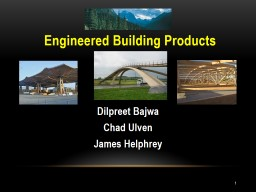 1 Engineered Building Products