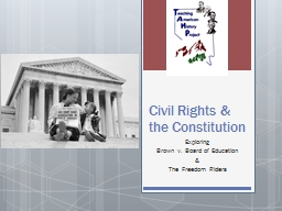 Civil Rights & the Constitution