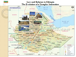 Law and Religion in Ethiopia