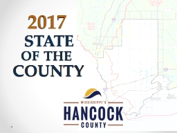 STATE 2017 THE COUNTY OF