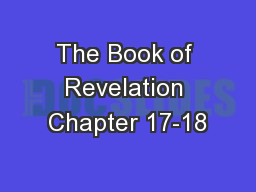 The Book of Revelation Chapter 17-18