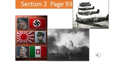 Section 2  Page 930 The Axis Advances