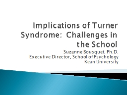 Implications  of  Turner PowerPoint PPT Presentation