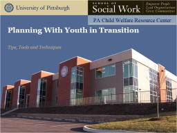 Planning With Youth in Transition