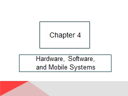 Hardware, Software, and