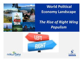 World Political Economy Landscape