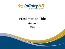 RELAX: Presentation Title