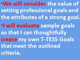 We will  consider  the value of setting professional