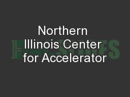Northern Illinois Center for Accelerator