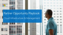 Partner Opportunity Playbook