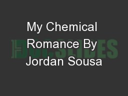 My Chemical Romance By Jordan Sousa