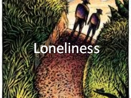 Loneliness Crooks Skin colour