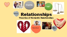 Relationships Theories of Romantic Relationships