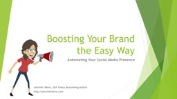 Boosting Your Brand  the Easy Way
