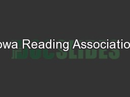 Iowa Reading Association