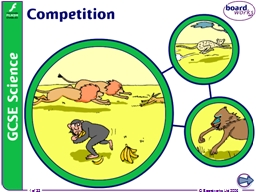 What is competition? All living things need natural resources, but the problem is that there is not