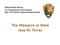 National Park Service,  U.S. Department of the Interior