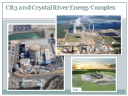 CR3 and Crystal River Energy Complex