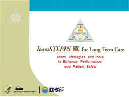 Team Strategies and Tools PowerPoint PPT Presentation