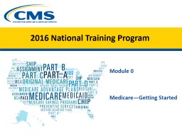 New Medicare Card Overview for Partners and Stakeholders