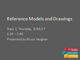 Reference Models and Drawings