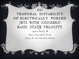 On  Temporal instability of Electrically forced jets with nonzero basic state velocity