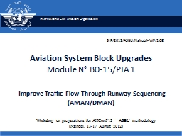 Aviation System Block Upgrades