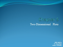 Chapter 5 Two-Dimensional Plots