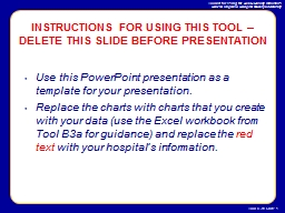 Use this PowerPoint presentation as a template for your presentation.