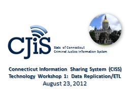 Connecticut Information Sharing System (CISS)