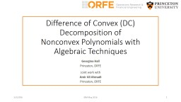 Nonnegative polynomials and difference of convex optimization