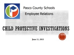 Child Protective Investigations