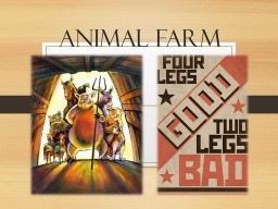 Animal Farm Allegory An allegory is a story in which characters and events are symbolic and have an