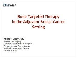 Bone-Targeted Therapy  in the Adjuvant Breast Cancer Setting