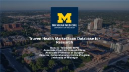 Truven  Health  MarketScan