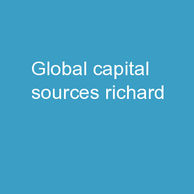 Global Capital Sources Richard