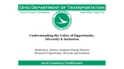 Understanding the Value of Opportunity, Diversity & Inclusion