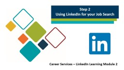 Step 1 Creating a Compelling and Effective LinkedIn Profile