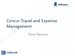 Concur Travel and Expense Management