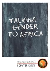 Talking gender to afreica