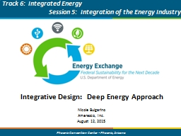 Integrative Design:  Deep Energy Approach