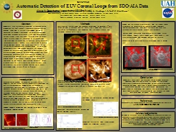 SH13A-2240 Automatic Detection of EUV Coronal Loops from SDO-AIA Data