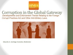 Corruption in the Global Gateway