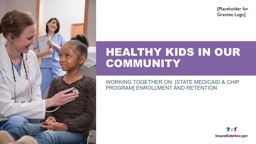 Healthy kids in our community