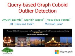 Query-based Graph Cuboid